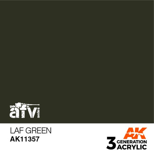 AK Interactive 3rd Generation Paint - LAF Green