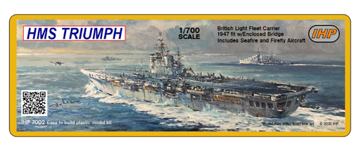 Imperial Hobby Productions 1/700 Scale HMS Triumph 1947