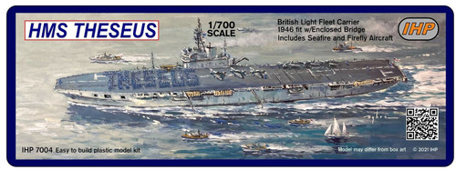 Imperial Hobby Productions 1/700 Scale HMS Theseus 1946