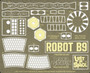 Paragrafix 1/6 Photo Etch Set for Moebius Robot B9 Lost in Space