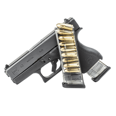 ETS, Mag, 9MM, 9 Rd, Smoke, Fits Glock 43