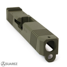 SUAREZ SUPERMATCH SI-26 TRIJICON RMR SLIDE (FOR GLOCK 26) - CERAKOTE
