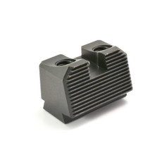 SUAREZ COWITNESS PLAIN BLACK REAR SIGHT - SIG P226, P320