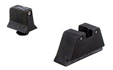TRIJICON SUPPRESSOR TRITIUM SIGHTS GREEN/NO WHITE OUTLINE - FOR GLOCK 9MM
