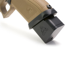 PRE-INSTALLED SUAREZ PLUS 4 MAGAZINE EXTENSION FOR GLOCK 22 - 40 S&W
