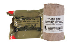 North American Rescue, Emergency Trauma Dressing, 4""