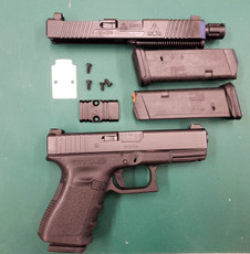 DEPARTMENT BUYBACK GLOCK 22 - TWO COMPLETE UPPERS (9MM & 40)