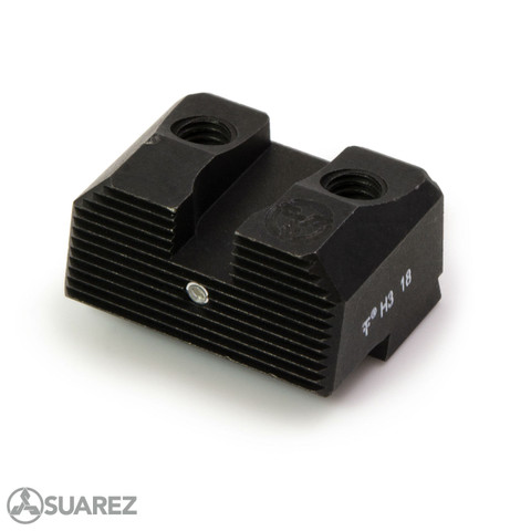 SUAREZ COWITNESS HEIGHT TRITIUM REAR SIGHTS - FOR GLOCK -