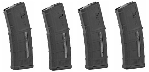 MAGPUL PMAG 30 M3 (WITH WINDOW) 5.56 - 4 PACK