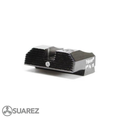 SUAREZ STANDARD HEIGHT TRITIUM REAR SIGHTS - FOR ALL GLOCKS
