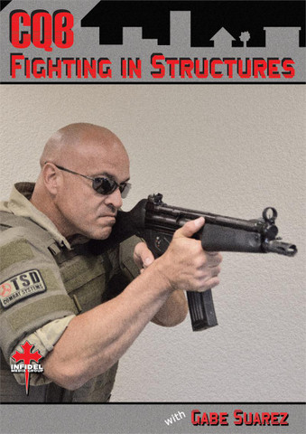 CQB - FIGHTING IN STRUCTURES - 3 DVD SET