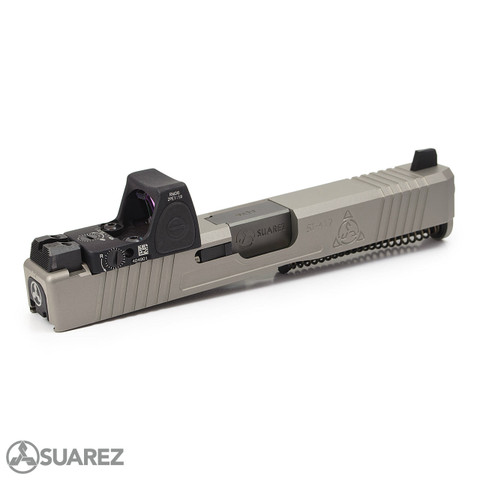 SUAREZ SUPERMATCH SI-319 TRIJICON RMR SLIDE (FOR GEN 3 G19) - NP3™