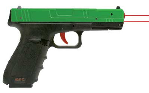 NEXT LEVEL TRAINING: SIRT GREEN POLYMER SLIDE W/ RED/RED LASER