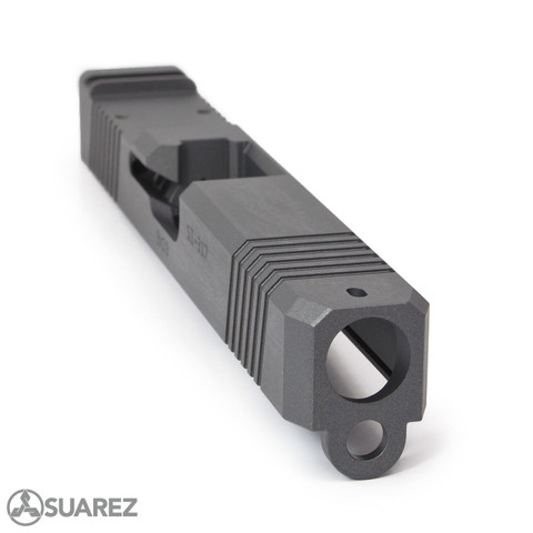 SUAREZ SUPERMATCH SI-319 TRIJICON RMR SLIDE (FOR GEN 3 G19) - CERAKOTE