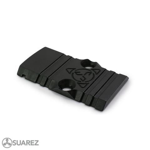 SUAREZ GUNFIGHTER SLIDE SADDLE - FOR TRIJICON RMR DOVETAIL PLATE FOR GLOCK