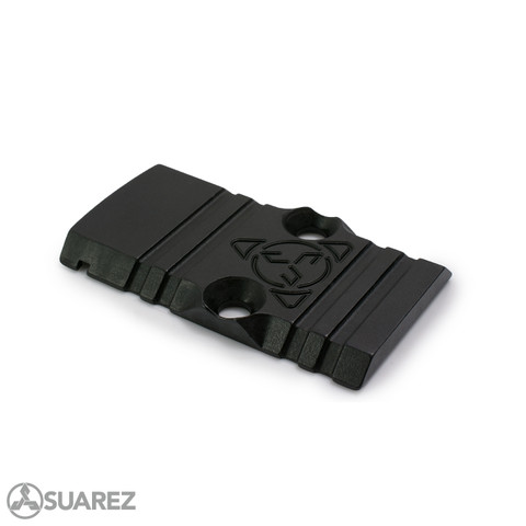 SUAREZ GUNFIGHTER SLIDE SADDLE - FOR TRIJICON RMR DOVETAIL PLATE FOR GLOCK