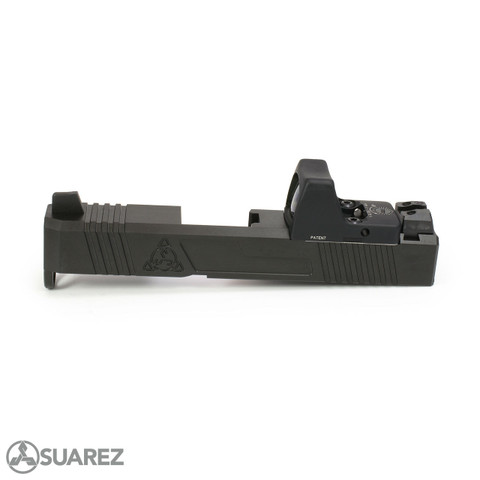SUAREZ SUPERMATCH SI-26 TRIJICON RMR SLIDE (FOR GLOCK 26) - BLACK