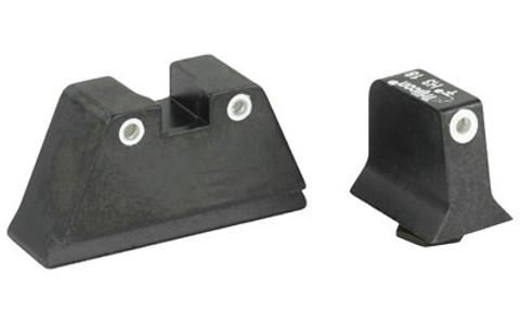 TRIJICON SUPPRESSOR TRITIUM SIGHTS GREEN - FOR GLOCK 9MM