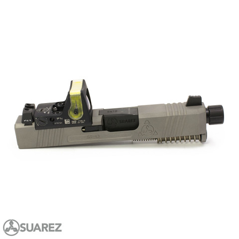 SUAREZ SUPERMATCH SI-43 TRIJICON RMR SLIDE (FOR GLOCK 43/43X) - NP3™