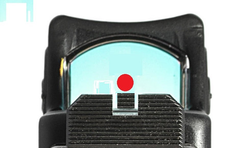 SUAREZ COWITNESS HEIGHT BLACK FRONT AND REAR SIGHTS - FOR GLOCK -