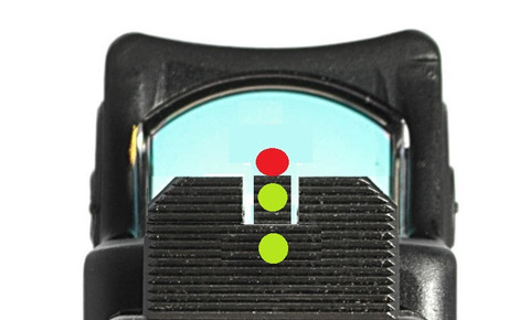 SUAREZ FULL COWITNESS HEIGHT TRITIUM FRONT AND REAR SIGHTS - FOR GLOCK -