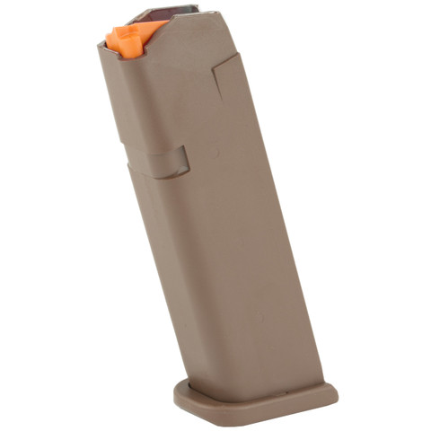 GLOCK FACTORY MAGAZINE 17/34 9MM 17 ROUND FDE