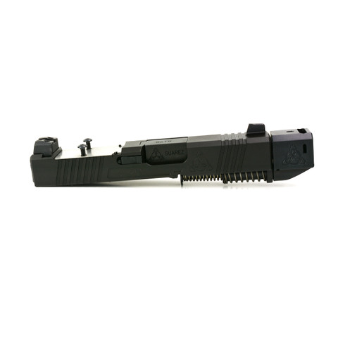 STREET COMP UPPER FOR GLOCK 26 (ALL GENERATIONS) - RMR READY - BLACK MELONITE