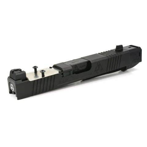 STREET COMP UPPER FOR GEN 3 GLOCK 19 - BLACK MELOMITE - RMR READY