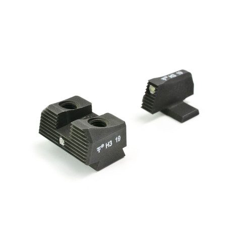 SUAREZ STANDARD HEIGHT TRITIUM SIGHTS SET - FOR SIG P226 AND P320
