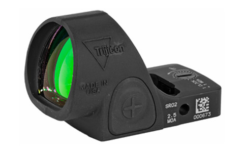 TRIJICON SRO  Adjustable LED, Matte Black Finish