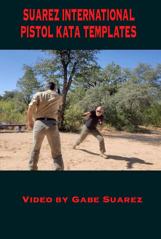 SUAREZ PISTOL KATA TEMPLATES - DVD HARD COPY