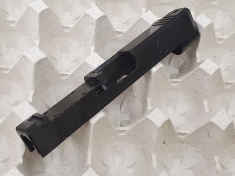 SUAREZ SUPERMATCH SI-48 TRIJICON RMR SLIDE (FOR GLOCK 43X or 48) - BLACK