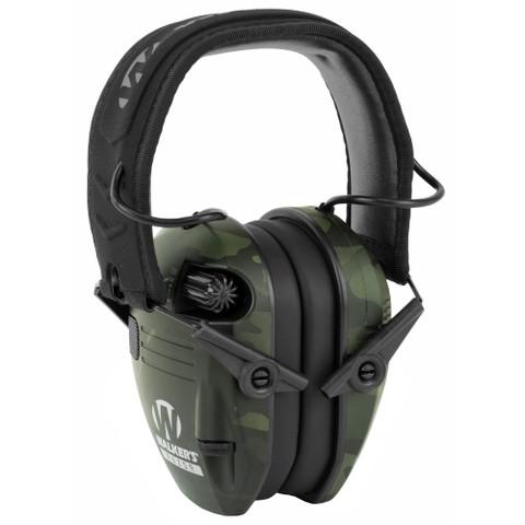 Walker - Razor Slim - Multicam Black Electronic Ear Muff