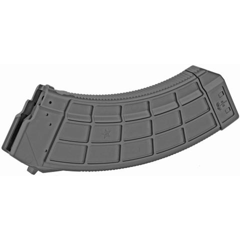 US PALM, AK30R MAGAZINE, POLYMER, 7.62X39, 30RD, BLACK FINISH, FOR AK-47
