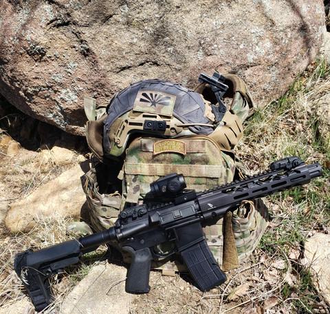 "SUAREZ PANAMA SPECIAL - 7.5"" 5.56 NATO UPPER"