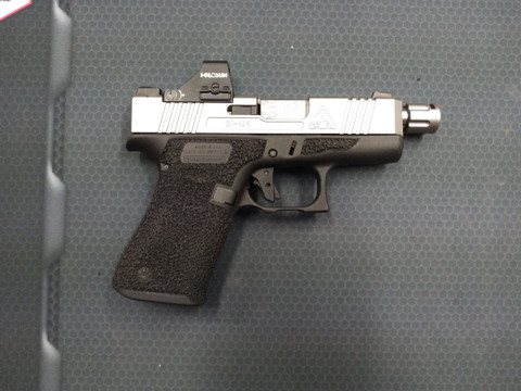 GUTTERSNIPE PACKAGE ON YOUR GLOCK 43/43X (WITH HOLOSUN 507K)