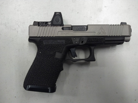 SUAREZ GUNFIGHTER-47 PACKAGE ON YOUR GLOCK 19 FRAME