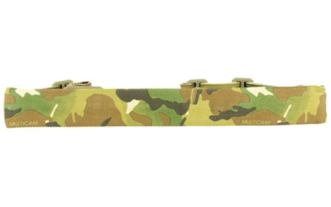 Blue Force Gear, Padded Sling, Molded Acetal Adjuster, No Quick Release, Attached with TriGlide instead of Loop Lock, 2-Point Combat Sling, Multi-Cam
