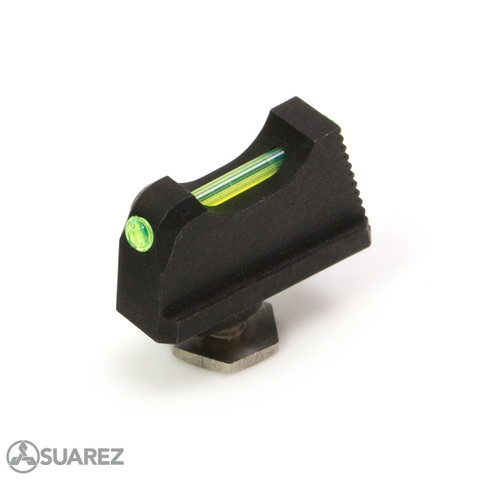 SUAREZ COWITNESS HEIGHT FIBER OPTIC FRONT SIGHT - FOR GLOCK