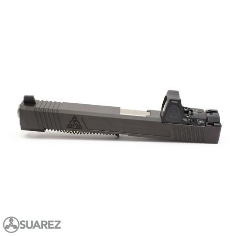 SUAREZ SUPER MATCH SI-334 TRIJICON RMR SLIDE (FOR GEN 3 G34) - BLACK MELONITE
