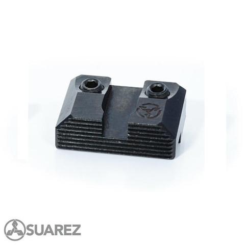 SUAREZ STANDARD HEIGHT - BLACK REAR - FOR ALL GLOCKS