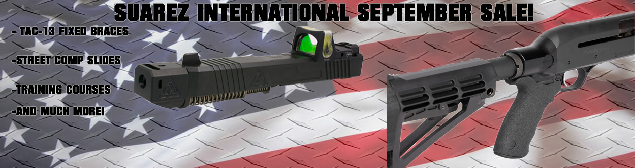Suarez International - Get aftermarket Glock parts, pistol