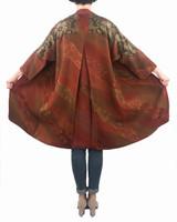 Terracotta Floral Satoko Coat