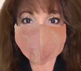 Pink Pearls Kabuto Face Mask