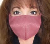 Pink Diamonds Kabuto Face Mask