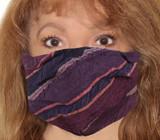 Seersucker Jacquard Incognito Face Mask