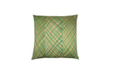 Diamond Plaid Pillow 18""