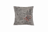 Mountain Village Rose House Pillow