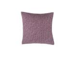 Plum Shibori Dot Square Pillow