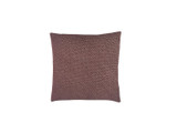 Burgundy Shibori Dot Square Pillow